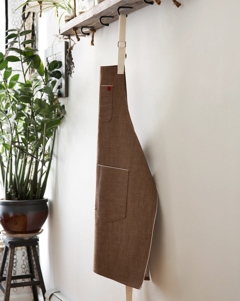 Hedley and Bennett Denim Apron - Ginger