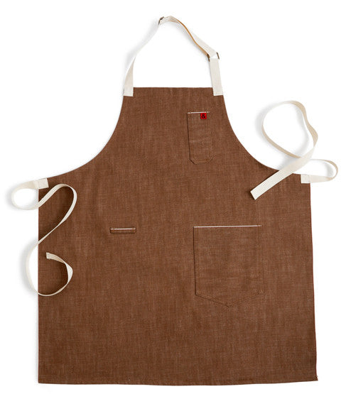 Denim Apron - Ginger