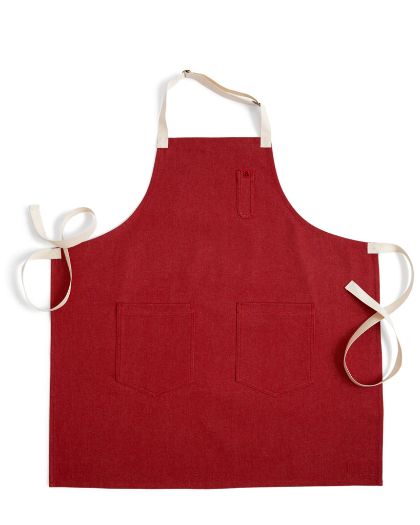 Hedley and Bennett Denim Apron - Red Rover