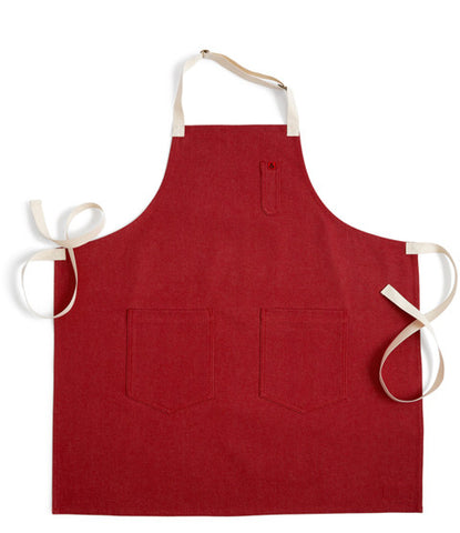 Denim Apron - Red Rover