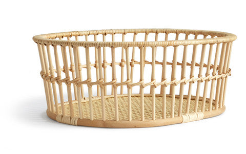 Rattan Basket - High