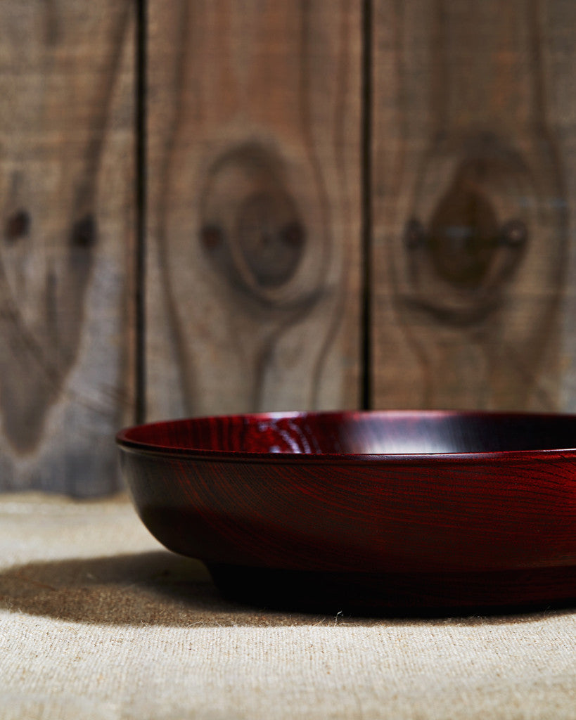Hatashikki Red Lacquer Bowl (OUT OF STOCK)