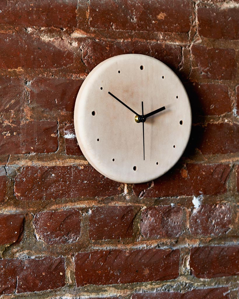 Hender Scheme Leather Clock (OUT OF STOCK)