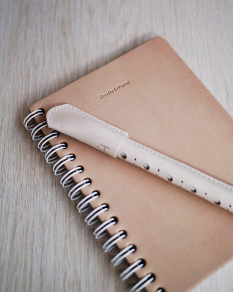 Hender Scheme Leather Notebook