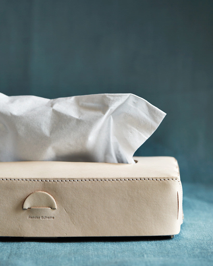 Hender Scheme Leather Tissue Box Cover