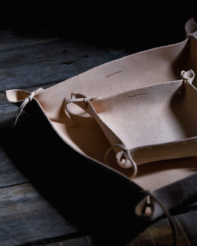 Hender Scheme Leather Tray - Small