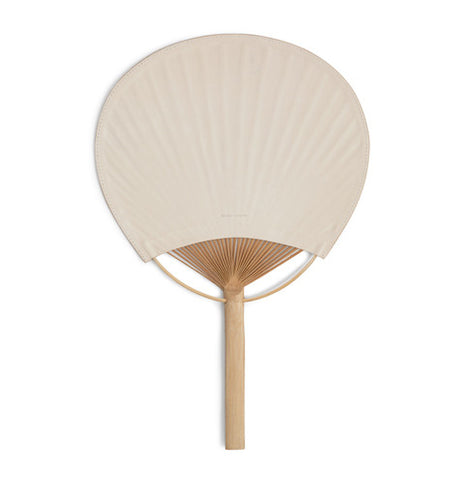 Leather Uchiwa Fan