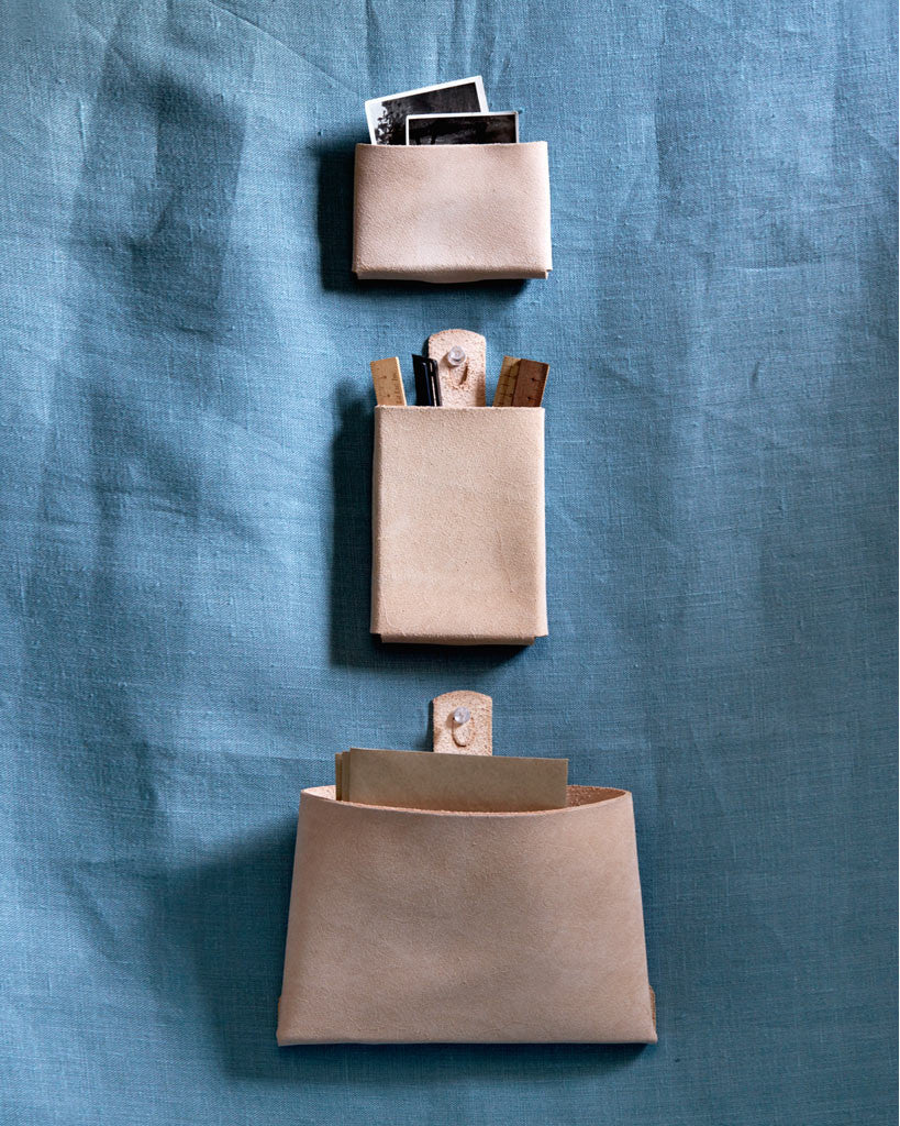 Hender Scheme Leather Wall Pocket - Letter (OUT OF STOCK)