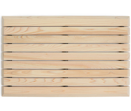 Hinoki Bath Mat - Rectangle