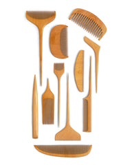 Jusan-Ya Short Tooth Boxwood Comb