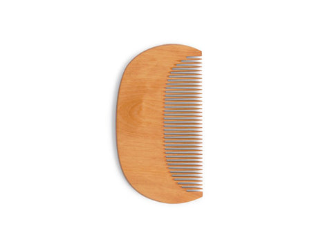 Half-Moon Boxwood Comb