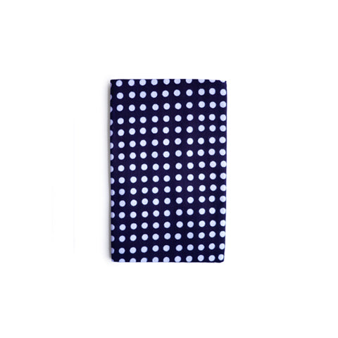 Tenugui Cloth - Navy White Dot