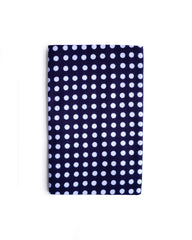 Kamawanu Tenugui Cloth - Navy White Dot