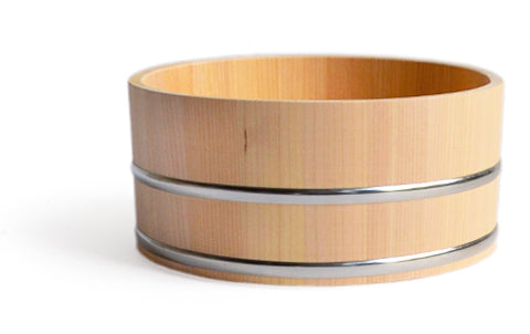 Hinoki Stainless Steel Bath Bucket (OUT OF STOCK)