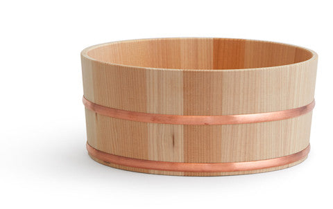 Hinoki Copper Bath Bucket (OUT OF STOCK)