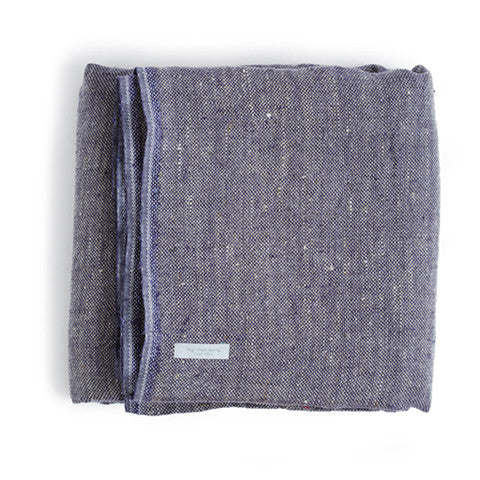 Linen Blanket - Purple (OUT OF STOCK)