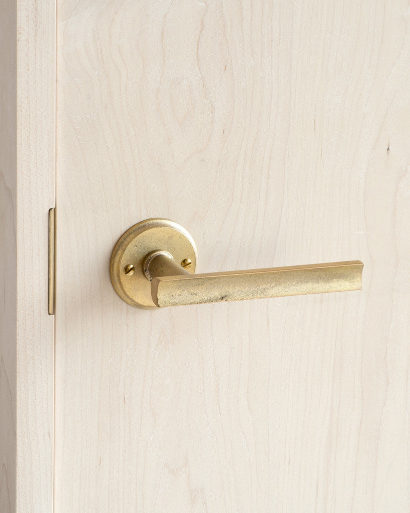 Matureware Door Handle and Mortise - 'Curved' Lever