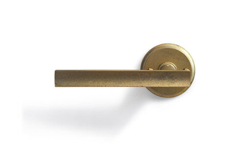 Door Handle and Mortise - 'Curved' Lever