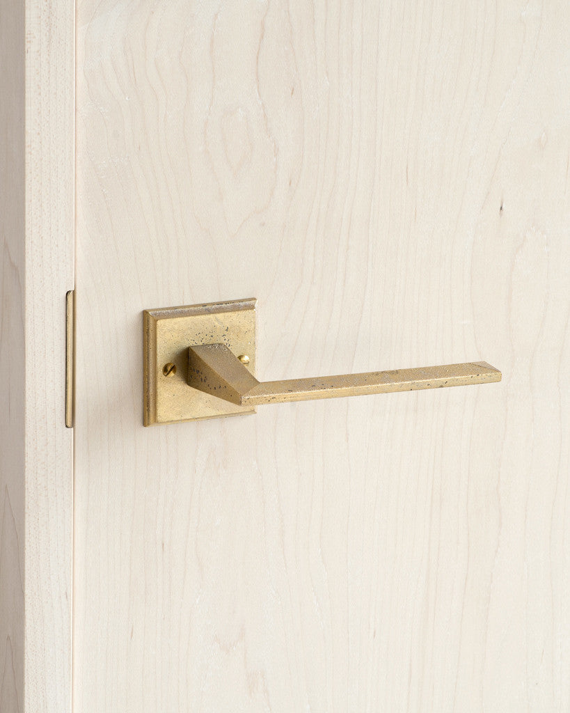 Matureware Door Handle and Mortise - 'Line' Lever