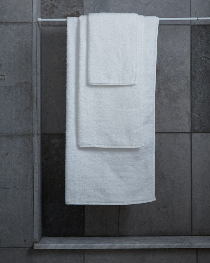 Uchino Marshmallow White Towels