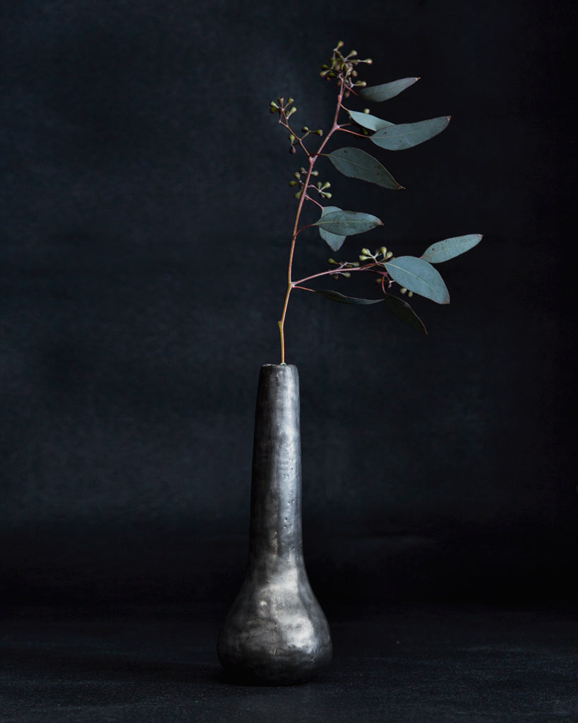 Masanobu Ando Silver Drop Vase (OUT OF STOCK)