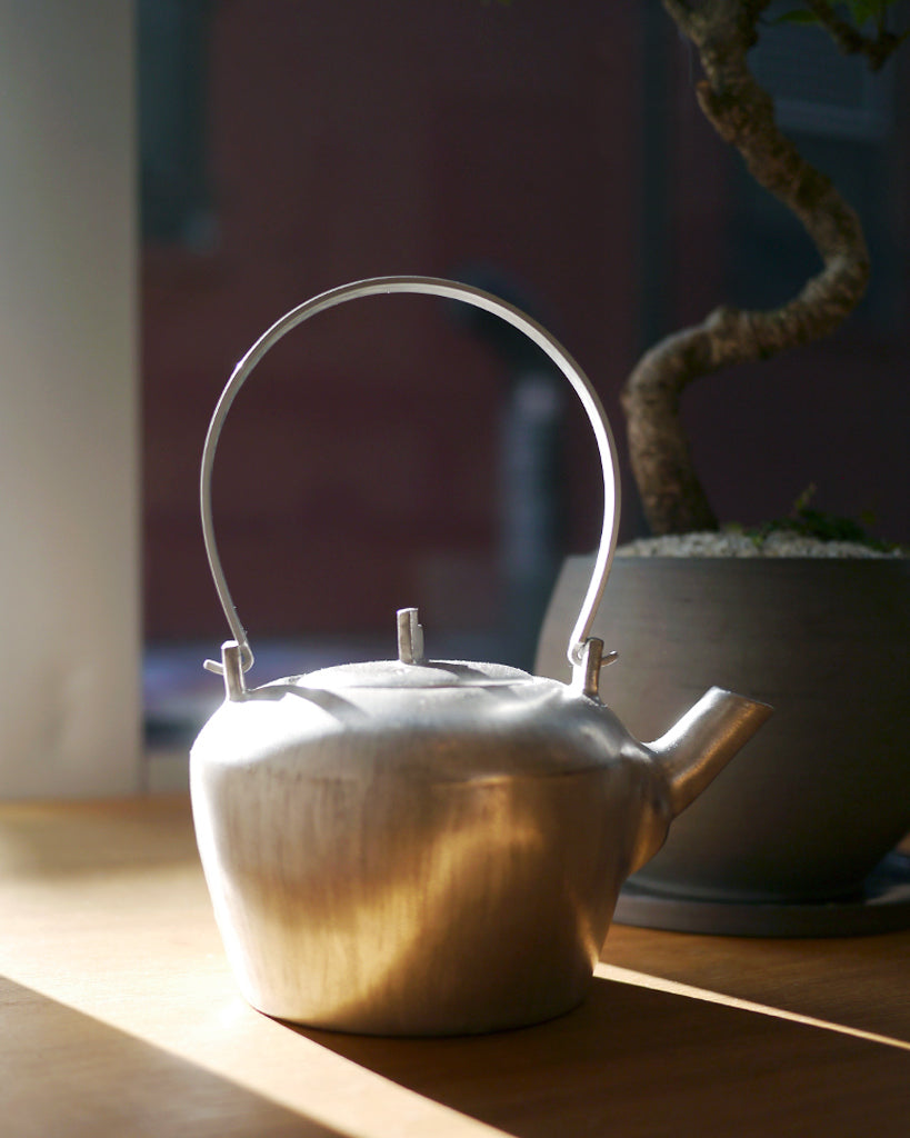 Masanobu Ando Silver Round Teapot (OUT OF STOCK)