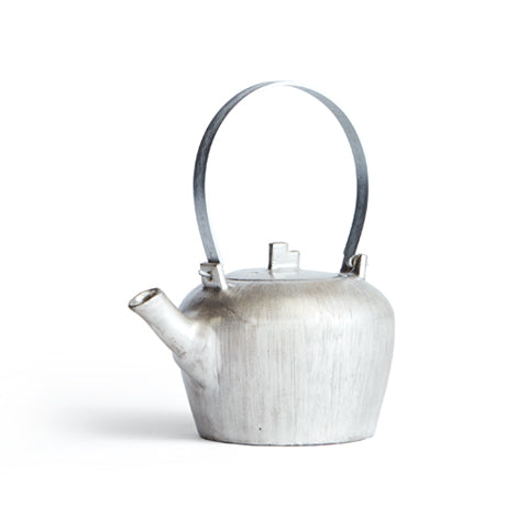 Silver Round Teapot (OUT OF STOCK)