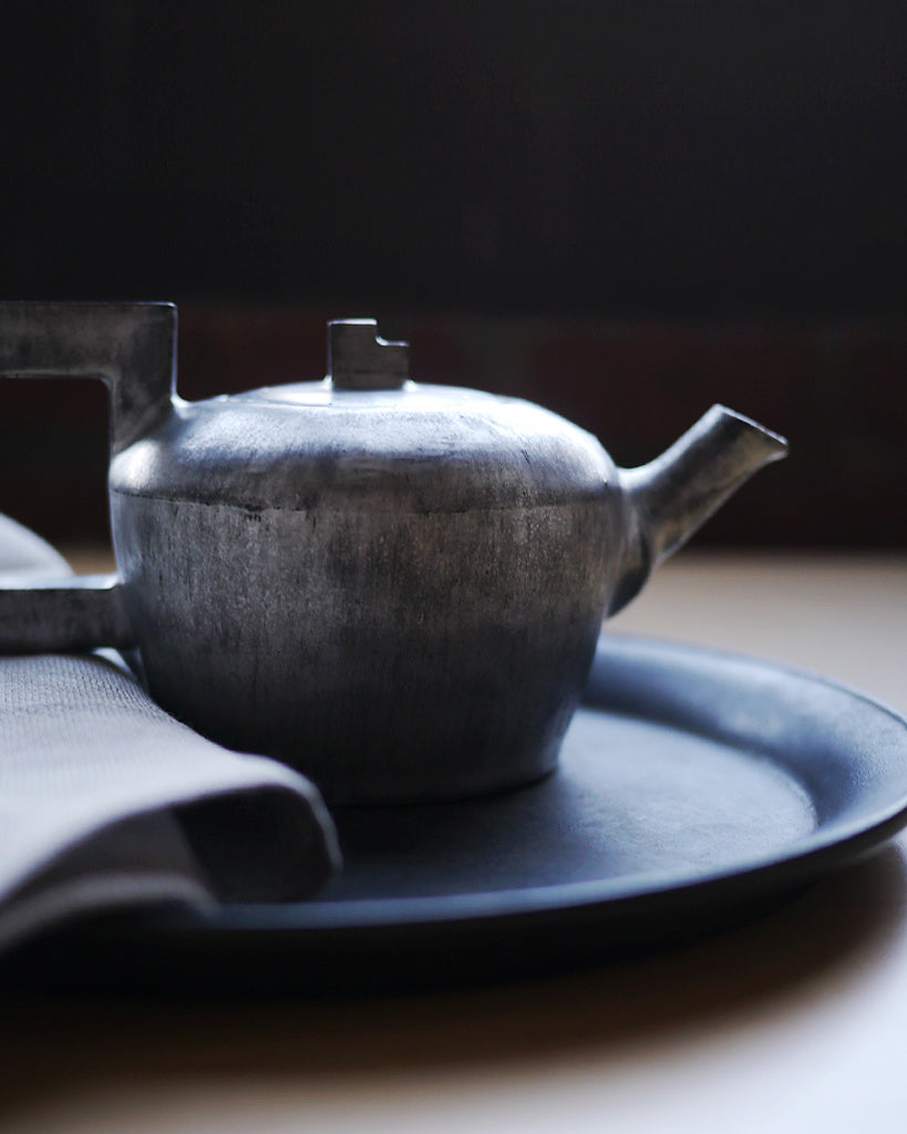 Masanobu Ando Silver Geometric Teapot (OUT OF STOCK)