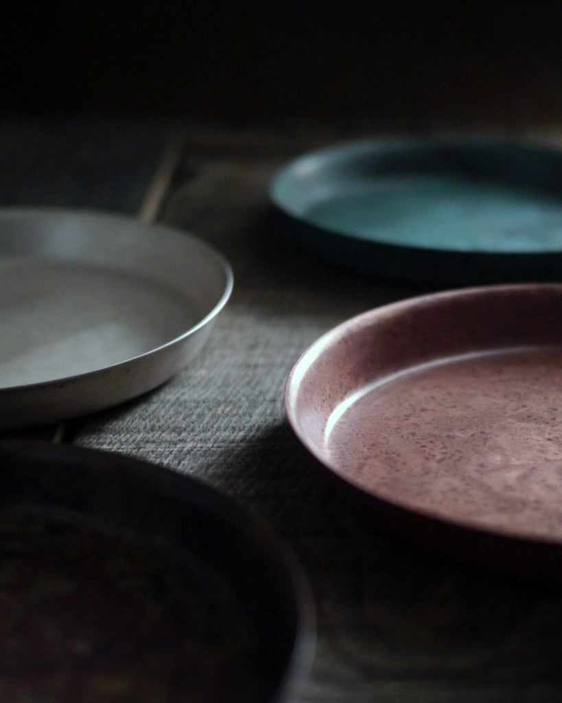 Momentum Factory Orii Oxidized Copper Dish - Pink