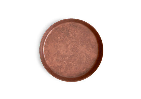 Oxidized Copper Dish - Pink