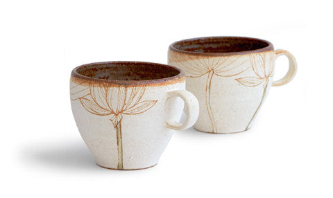 Lotus Flower Mug (OUT OF STOCK)