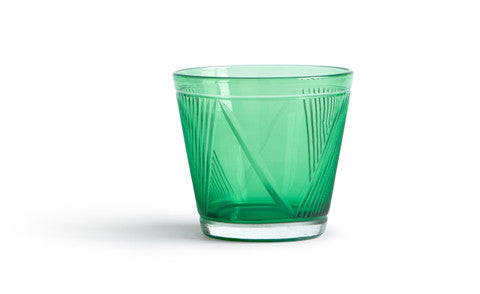 Whiskey Glass - Green