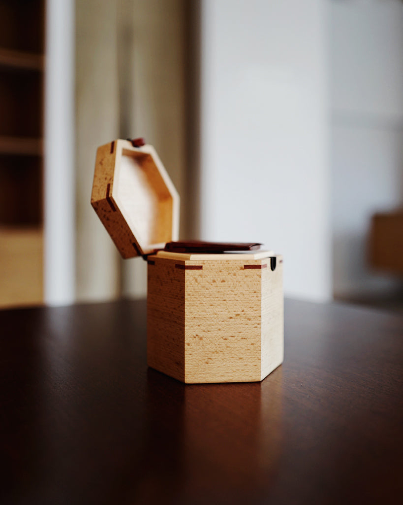 Tanno Tea Case - Beech Wood (OUT OF STOCK)