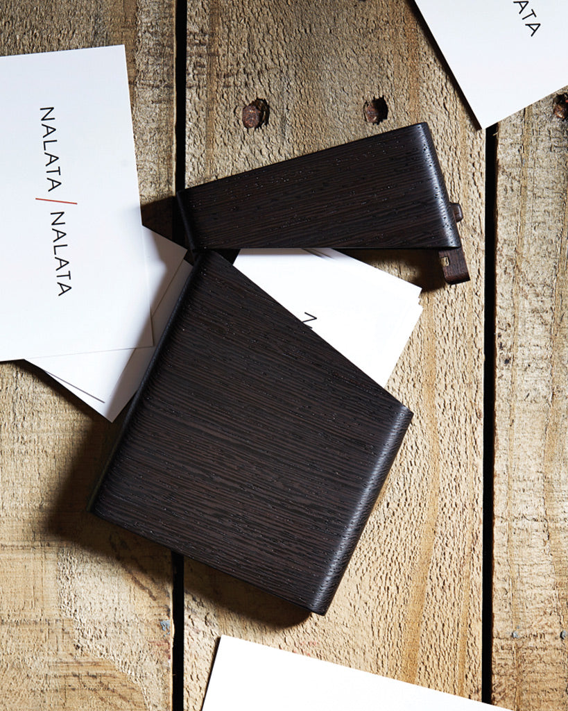 Tanno Business Card Case - Ebony (OUT OF STOCK)