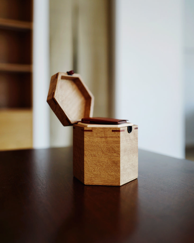 Tanno Tea Case - Japanese Oak (OUT OF STOCK)