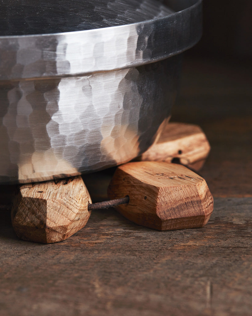 RetRe Block Wood Trivet (OUT OF STOCK)