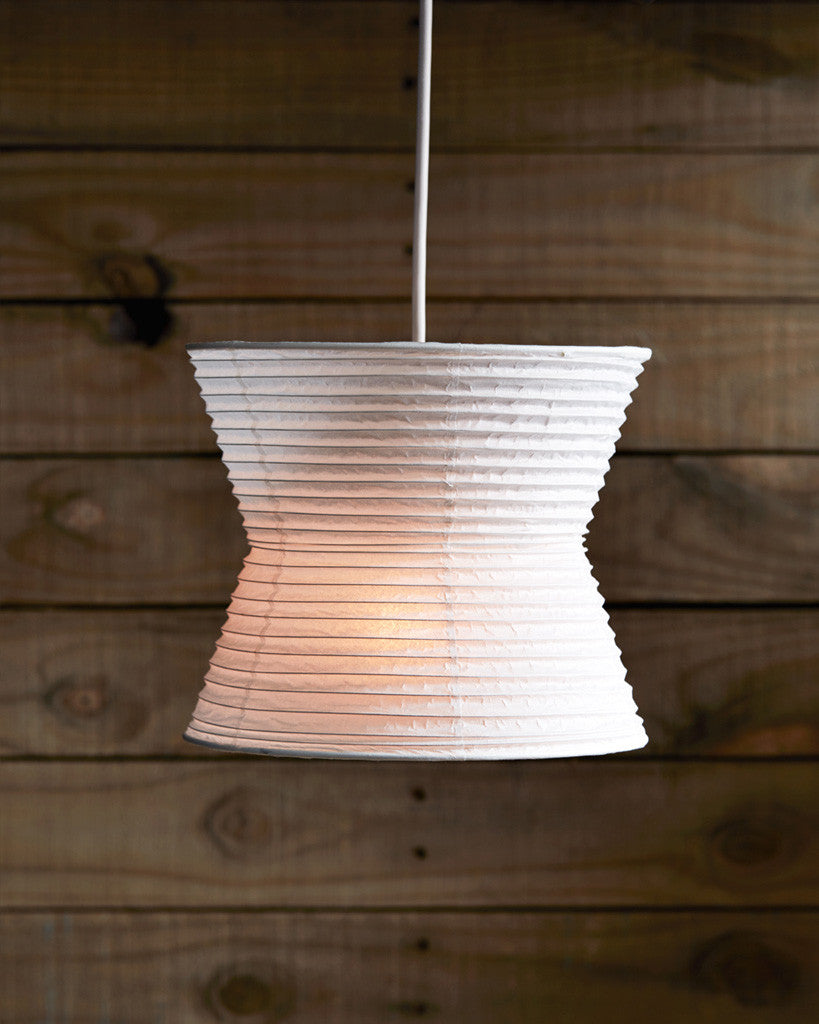Washi paper pendant lamp shade curve nalata nalata hayashi kougei washi paper pendant lamp shade curve mozeypictures Gallery