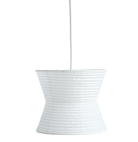 Washi Paper Pendant Lamp Shade - Curve (OUT OF STOCK)