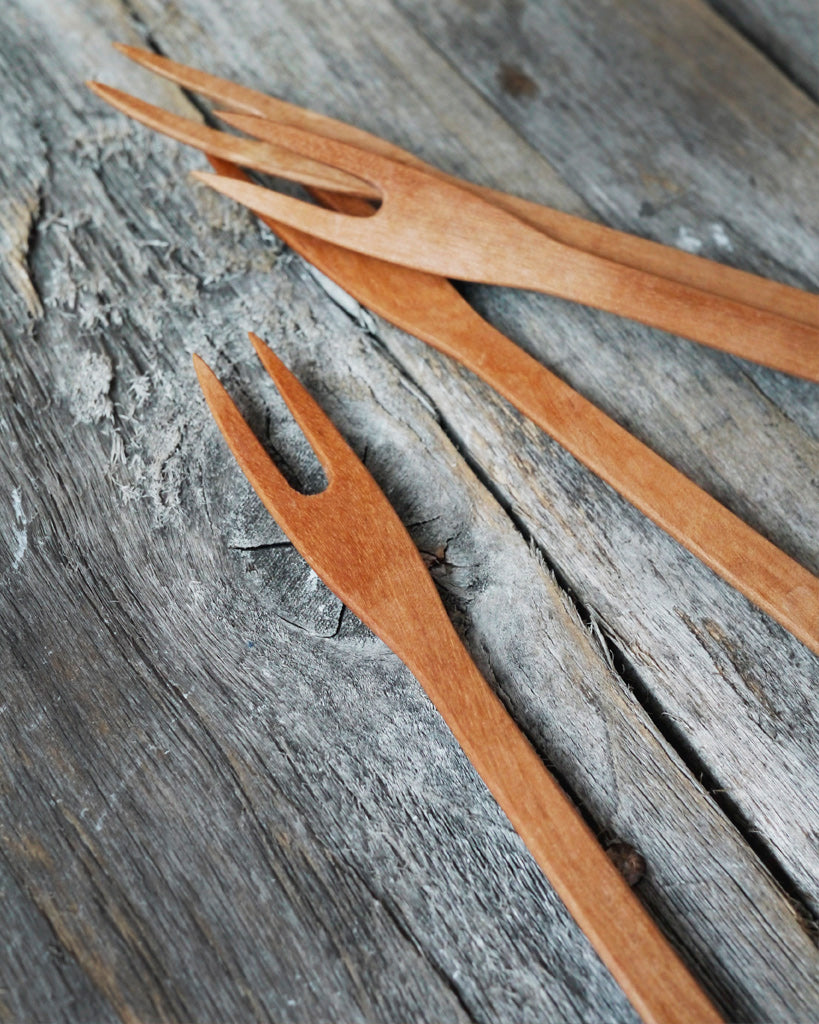 Ryuji Mitani Small Wooden Fork (OUT OF STOCK)