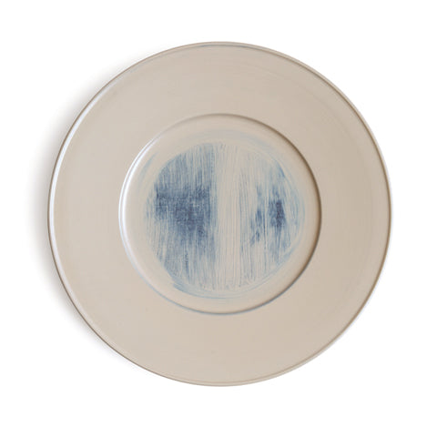 White Urushi Rimmed Plate (OUT OF STOCK)