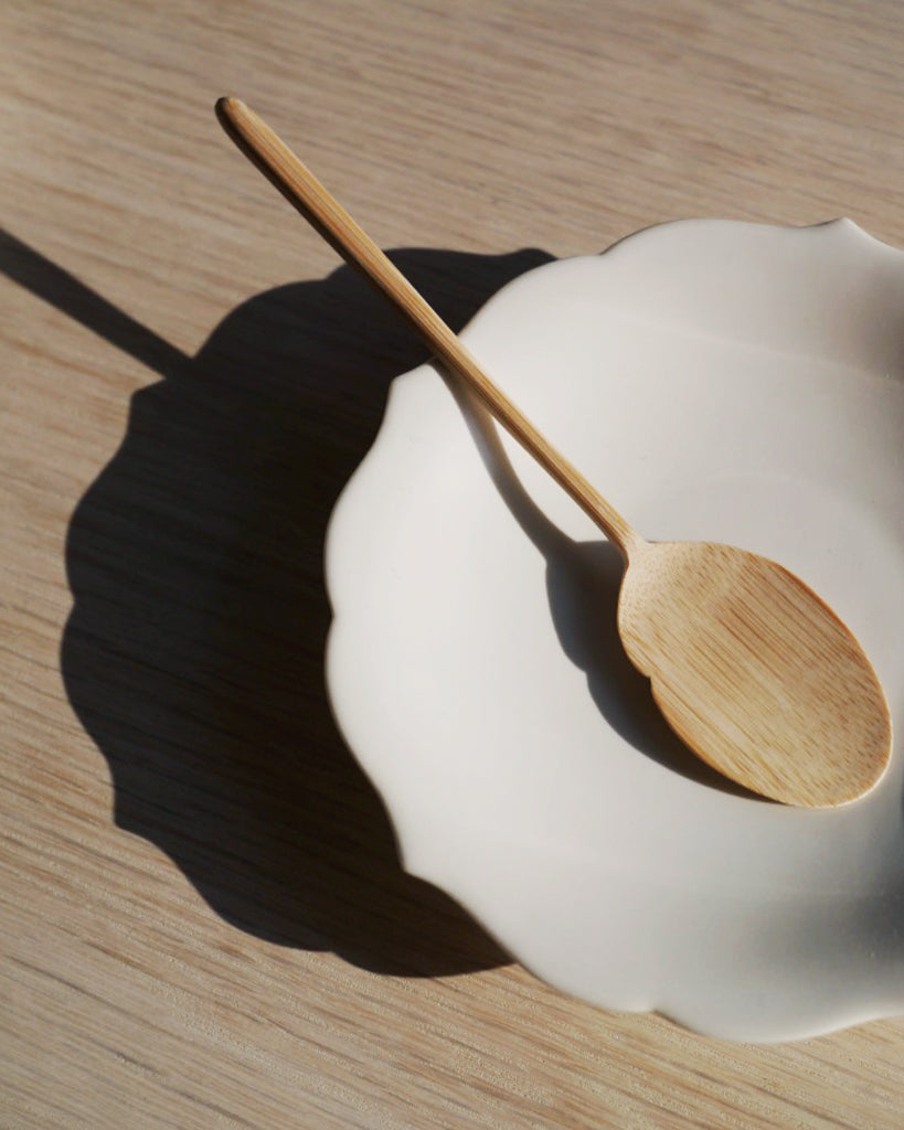 Simplicity Bamboo Fish Spoon