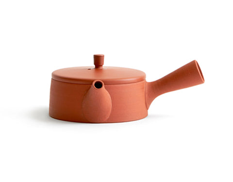 Clay Teapot - Red