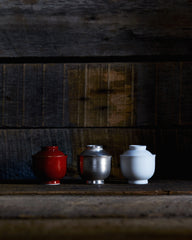 Simplicity Mini Lidded Container - Red