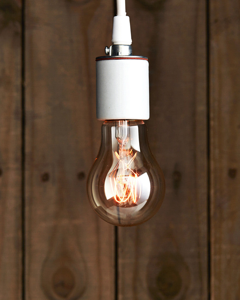 Sklo Tungsten Filament Light Bulb - Oblong 'F-55' (OUT OF STOCK)