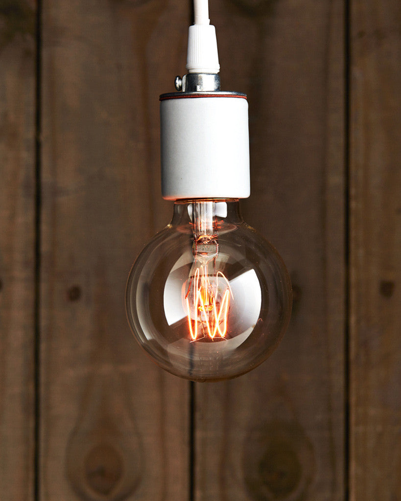 Sklo Tungsten Filament Light Bulb - Globe 'F-70'