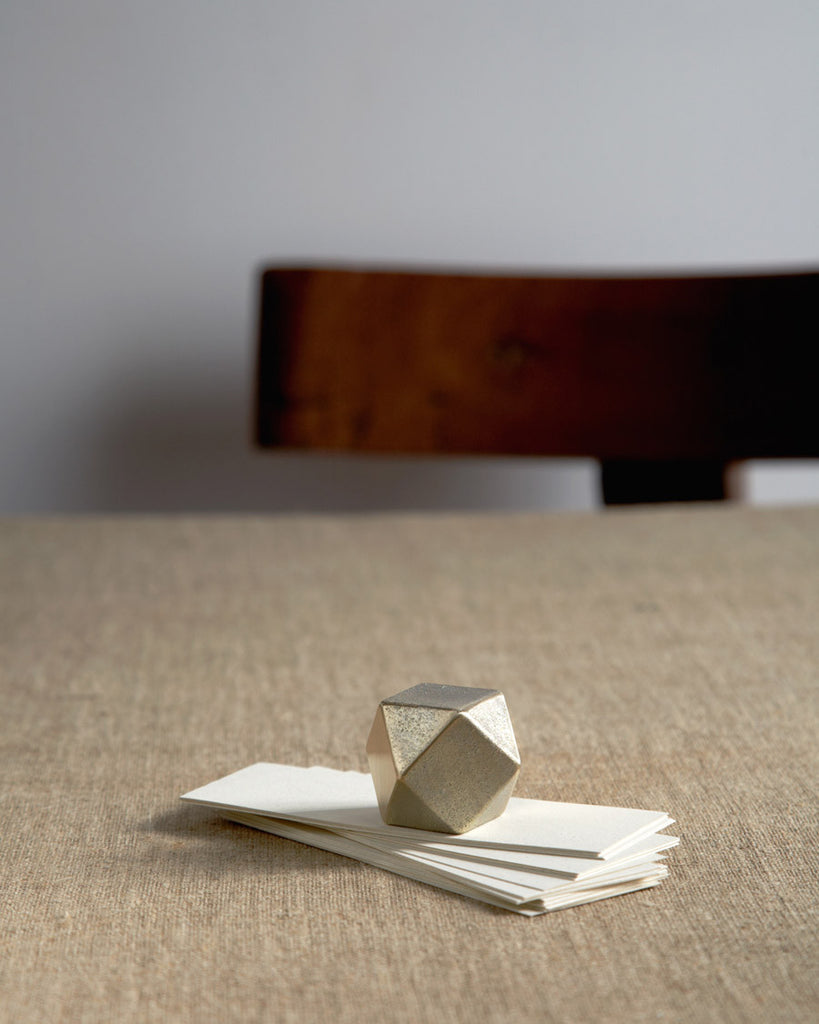 Futagami Brass Paperweight - Square