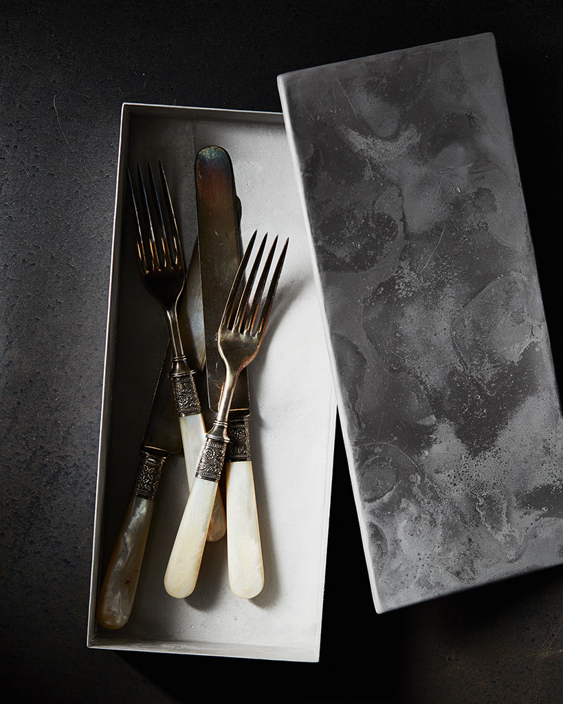 Takayoshi Narita x Nalata Nalata Cutlery Box - Stainless Steel (OUT OF STOCK)