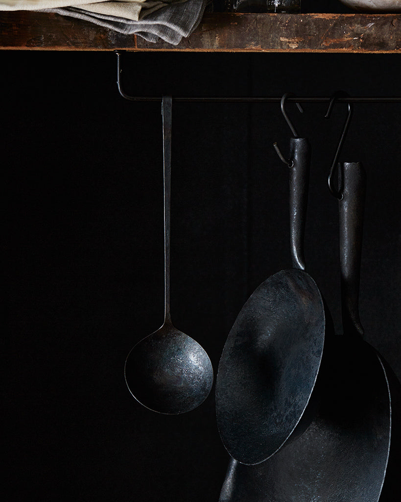 Takayoshi Narita Hanging Wrought-Iron Ladle (OUT OF STOCK)
