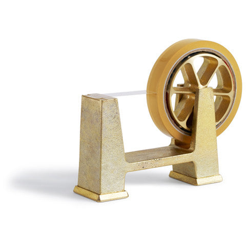 Brass Tape Dispenser - Large