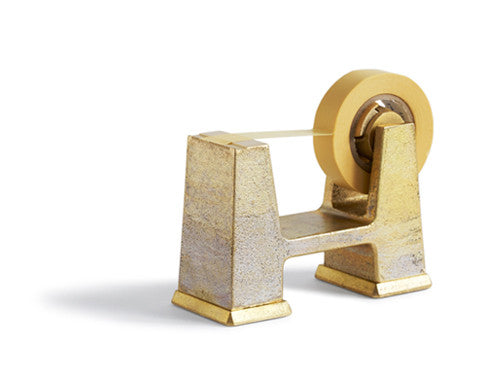 Brass Tape Dispenser - Small